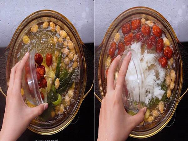 cách nấu chè dưỡng nhan gây sốt siêu ngon công thức làm cực dễ